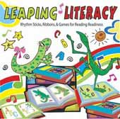 Leaping Literacy!  Rhythm Sticks, Ribbons & Games